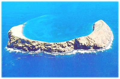 Aerial View of Molokini