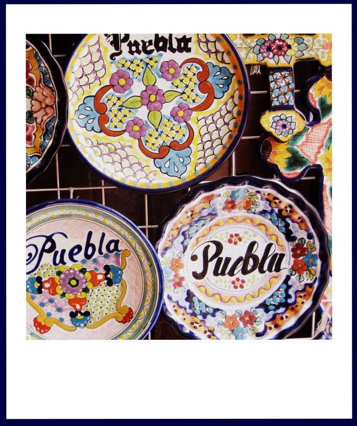 The Original Sealed Talavera from Puebla