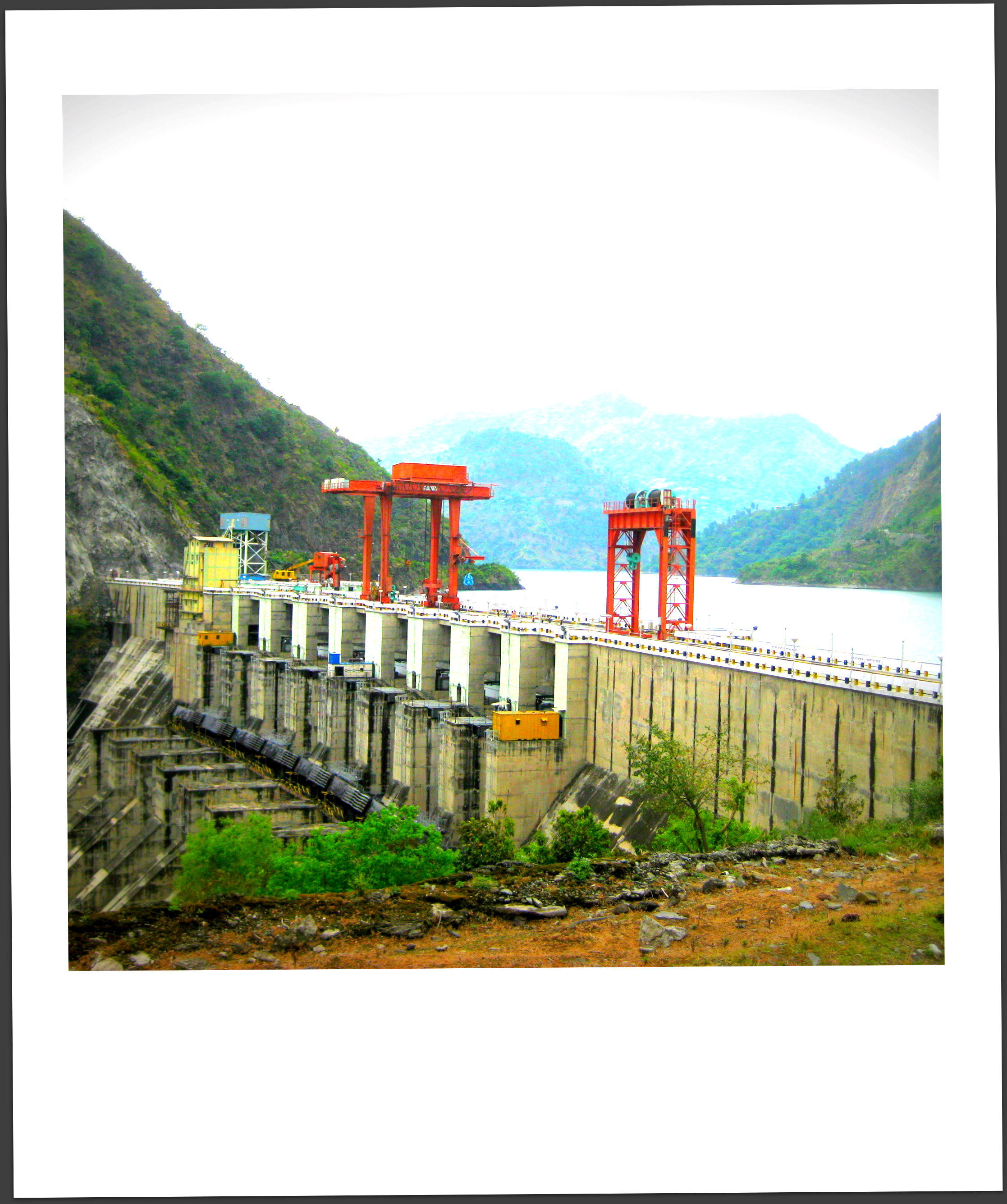 View of the Hydroelectric Power Station