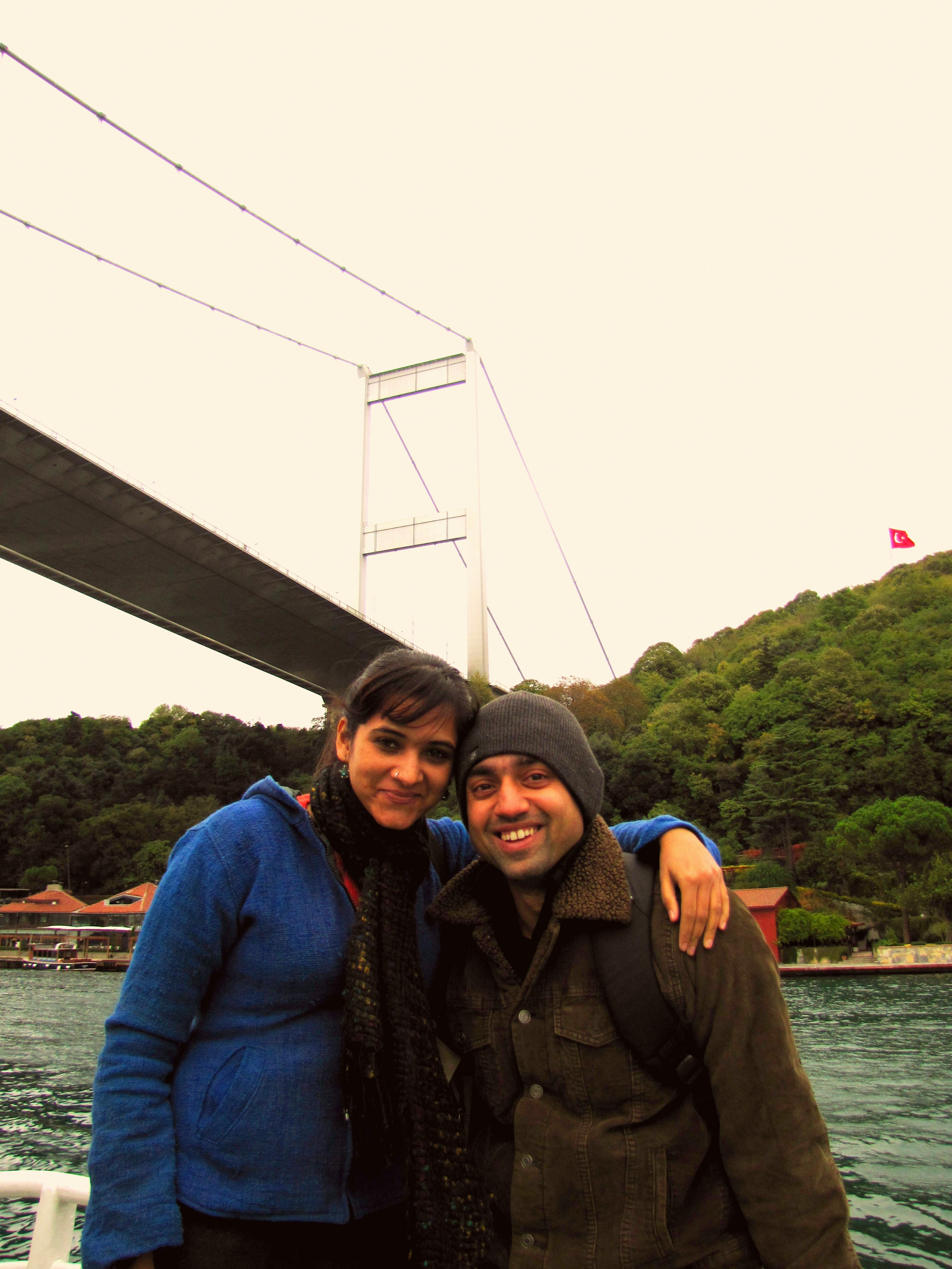 On the Traditional Steamboat through the Bosphorus