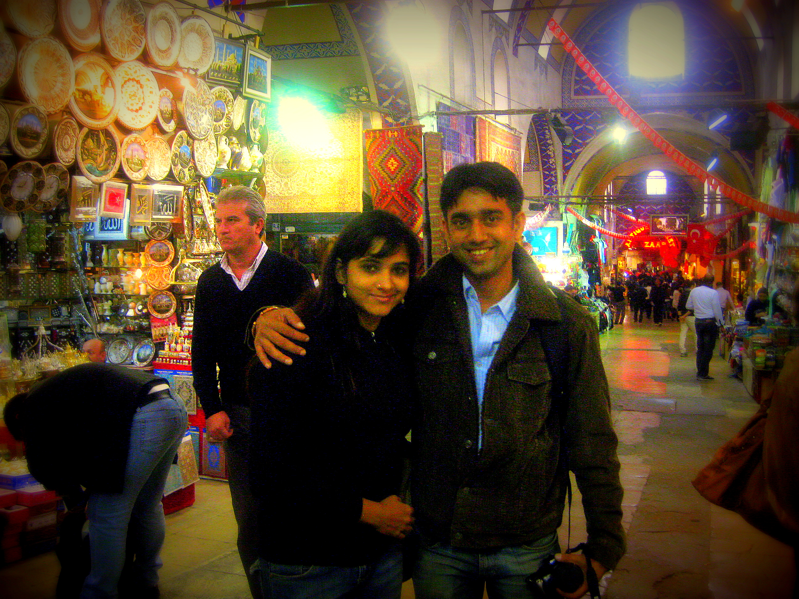 The Brightness and richness of the Grand Bazaar