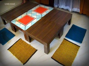 Jigsaw Low Dinning Table_1 - Copy