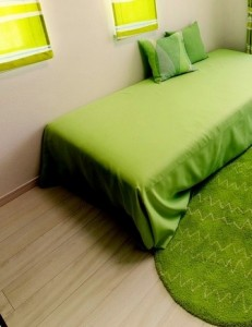 Best Green Bedroom Interior Design