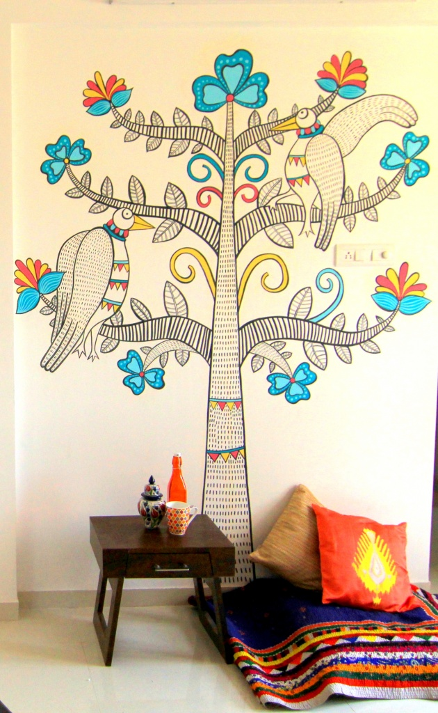 Best Ethnic Interior Decor Madhubani Wall Art